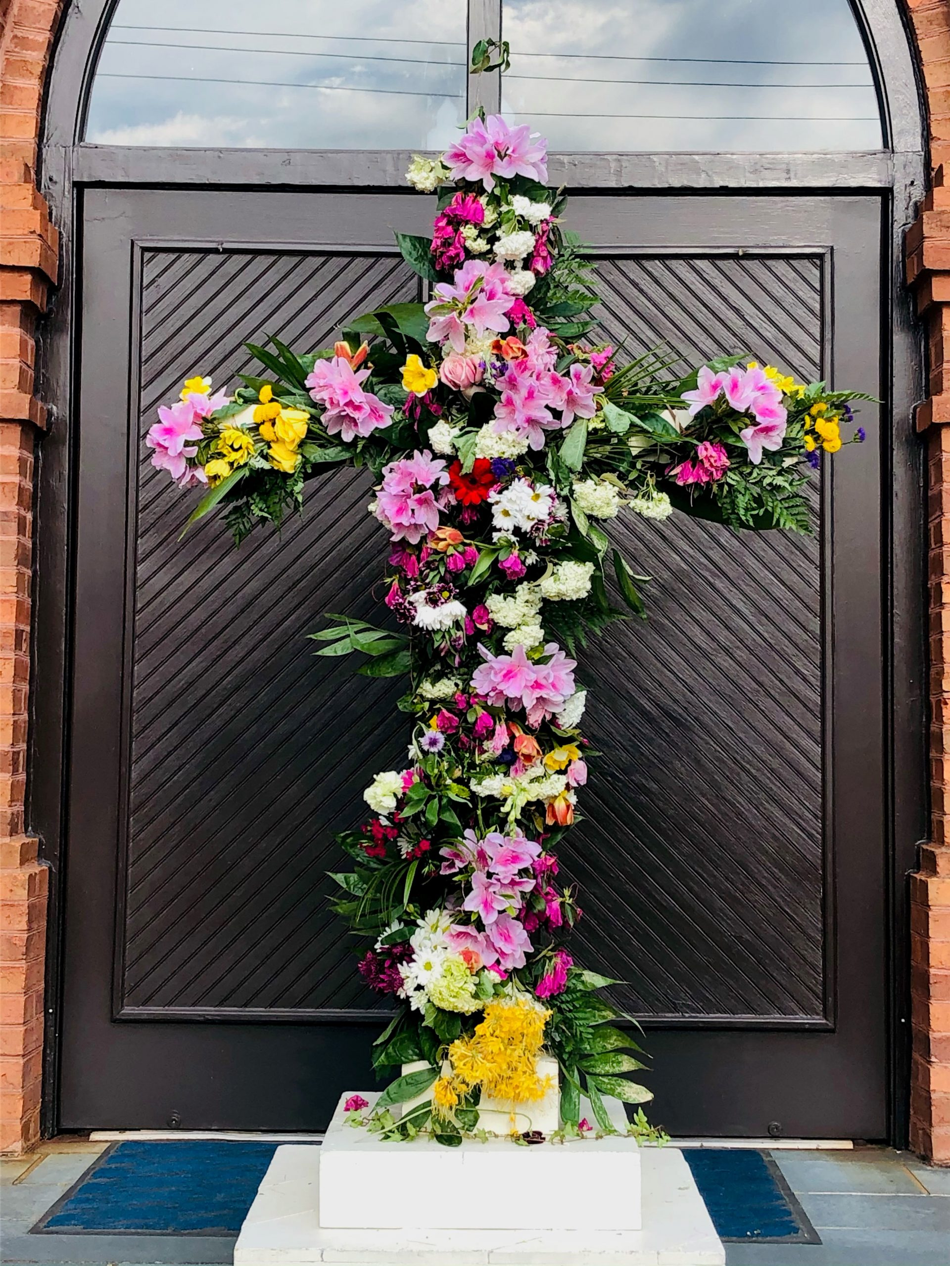 Flowering the Cross - Easter 2021